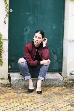#fashionblogger #bombers #france #girl #blogmode #ledressingapaillettes