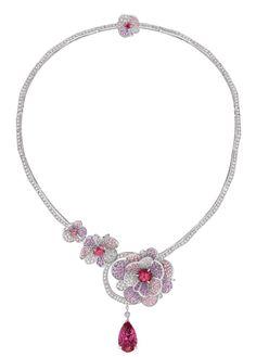 Chanel : Jardin de Camélias, amazing new High Jewelry