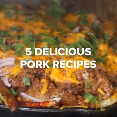 5 Delicious Pork Recipes Pork Chops, Pork Loin Chops, Pork