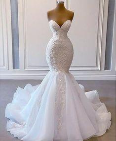 Dream Wedding Dresses, Bridal Dresses, Prom Dresses, Mermaid Wedding Gowns, Dress Prom, Stunning Wedding Dresses, Princess Wedding Dresses, Long Dresses, Ballgown Wedding Dress
