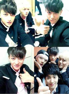 Tao +  Luhan  (EXO-M) + Sehun + Suho (EXO-K)