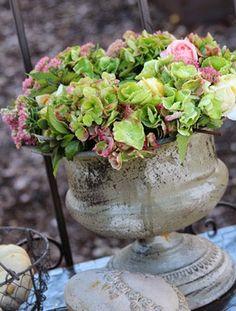 Als Bouquet getarnt