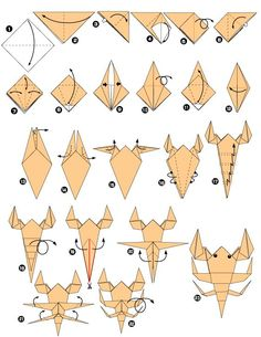 We've always wanted to build origami shapes, but it looked too hard to learn. Turns out we were wrong, we found these awesome origami shapes. Star Wars Origami, Instruções Origami, Origami Yoda, Origami Star Box, Origami Fish, Origami Folding, Paper Crafts Origami, Kirigami, Origami Instructions
