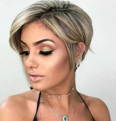 New Pixie And Bob Short Haircuts For Women 2019 - short-hairstyles - - November 02 2019 at Pixie Haircut For Thick Hair, Bobs For Thin Hair, Short Hairstyles For Thick Hair, Short Brown Hair, Medium Bob Hairstyles, Very Short Hair, Short Pixie Haircuts, Short Hair Cuts For Women, Curly Hair Styles