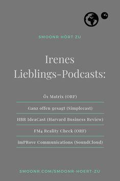 Wer zuhört, erfährt auch Dinge, nach denen er nicht gefragt hat - meine Top 5-Podcasts zum Reinhören. Motivation, Weather, Love, Do Your Thing, Studying, Amor, Weather Crafts, Inspiration
