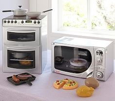 Get their imaginations flowing with Pottery Barn Kids' play kitchens and toy kitchen sets. Let them play house and cook for you with these quality play kitchens and more. Kitchen Design Open, Outdoor Kitchen Design, Kitchen Sale, Mini Kitchen, Kitchen Appliance Storage, Kitchen Appliances, Kidkraft Kitchen, Kitchen Playsets, Toy Kitchen Accessories