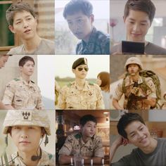 Descendants of the Sun. SJK! He's very charmingly cute, cocky and funny yet very manly in his character in this series. Oh my heart is melting!