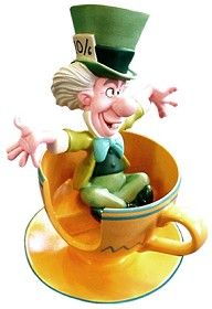 *MAD HATTER ~ WDCC Disney Classics_Alice In Wonderland Mad Hatter A Mad Whirl