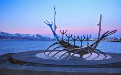 When the Norseman Ingolfur Arnarson arrived in Iceland in AD 870, he became the country's first settler. Arnarson picked what is now Reykjavik to be his home and it isn't difficult to see why! When you arrive in the beautiful Icelandic capital, be careful that the charm of the place doesn't make you want to put down roots!