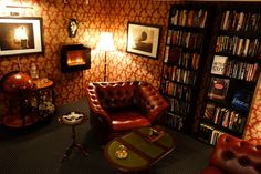 Cigar lounge yes! books!