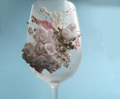 Polymer clay on glass