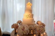 Beautiful Blooms Phil Kramer Cake Flowers White and Blush