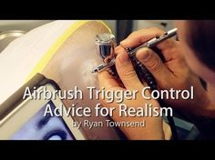 Airbrush Lessons and Advice on Practicing Trigger Control Airbrush Tattoo, Airbrush Art, Airbrush Designs, Air Brush Painting, Painting Tips, Modeling Techniques, Face Painting Designs, Pinstriping, Model Building