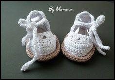Chaussons crochetés main style