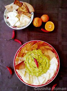 Guacamole, é petisco, é lanche, é almoço....