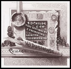 Trade card, engraved -- S. D. Childs & Company   Sheaff : ephemera
