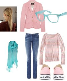 """""""Campus Style"""" by micmeron on Polyvore"""