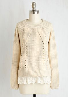 New Arrivals - Prim On a Whim Sweater