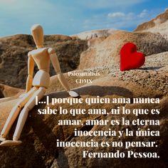 La mente formula preguntas y, usualmente, los sentidos las responden. El problema es que son desde éstos últimos que se generan los malos entendidos, las confusiones y a los que censuramos cuando desconocemos su origen. Así podemos construir una versión romántica o épica del amor, pero que en última instancia esté sosteniendo una idealización, ni siquiera del otro, sino del amor mismo. #psicoanálisiscdmx #amor #vínculosano #atenciónonline Fernando Pessoa, Tinkerbell, Baddies