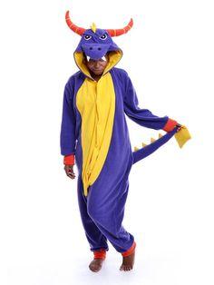 Adult Animal Onesie (Kigurumi – Cosplay) – Inspired By Spyro The Dragon, $70, etsy.com