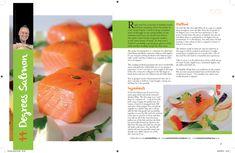 Carlisle Issue 9.indd Cantaloupe, Salmon, Seafood, Carlisle, Plates, Fruit, Desserts, Recipes, Foods