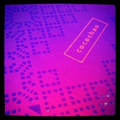#Purple is the #colour at Cocochan! Thanks @sirnorgaard for #fab pic @instagram! (^_−)☆