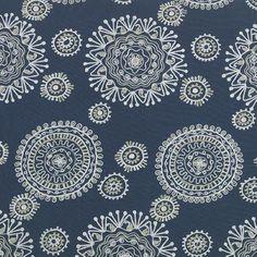 Stout Fabrics Kilamanjaro 2 Navy - InteriorDecorating.com