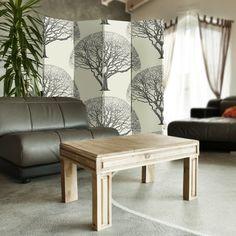 Wzór wielkiego drzewa, Parawan ozdobny dwustronny na płótnie - Canvas