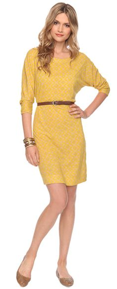 Love the color. It would be absolutely darling with a pencil skirt