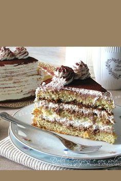 TORTA TIRAMISU' SENZA UOVA CRUDE, con video ricetta. Sorprendentemente soffice e composta da stati alternati di morbido #pandiSpagna e #crema la #mascarpone, aromatizzati da #caffè e #rum per un connubio di profumi e sapori davvero irresistibili.  #tiramisu #torta #dolci #senzauova #dessert #tortadicompleanno #party #videoricetta #cake #videorecipe #recipe #food #idolciditatam Italian Desserts, Italian Recipes, Tiramisu Cake, Dolce, Video, Ethnic Recipes, Dessert Recipes, Pastries, Cream