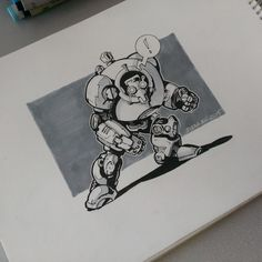 #sketch #robot #draw