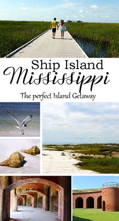 The perfect Island getaway - Ship Island - Mississippi - Best beaches in Mississippi New Orleans, New York, Places To Travel, Places To See, Travel Destinations, Weekend Trips, Weekend Getaways, Ocean Springs Mississippi, Biloxi Beach