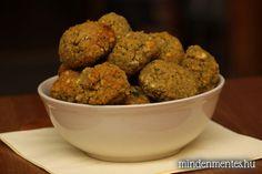 Falafel - Nóra mindenmentes konyhája Milk Recipes, Vegetarian Recipes, Dessert Recipes, Healthy Recipes, Healthy Food, Falafel, Vegan Recepies, Vegetarian Lifestyle, Iranian Food