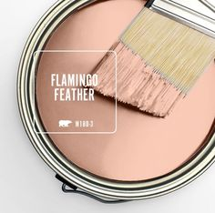 Flamingo Feather soft pink.