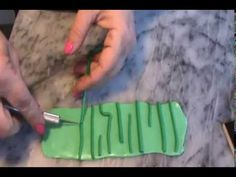 Polymer Clay Watermelon Cane Tutorial