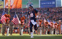 Peyton Manning Mile High Welcome Wallpaper