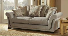 Charlotte 3 Seater Sofa Scatter Back