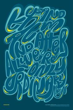 kouglof - typo/graphic posters