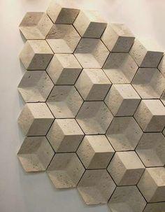 Exciton XL by Giovanni Barbieri at Petra Stone *El recurso del volumen y las texturas está ampliamente desarrolla en el sector cerámico. A través de esta tendencia se reinterpreta realizando una mezcla de los mismos, generando contrastes entre superficies: pulidas y rugosas, con esmaltes de alto brillo y mates, formas curvas y angulosas…