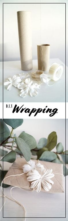 DIY Wrapping! Unique and pricey! #wrapping #diy