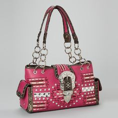 8345d587d1  Aztec  Rhinestone  Handbag  western with  style available at  www.shopforbags