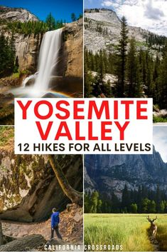 Wondering where to go hiking in Yosemite national park? here are the best hikes in Yosemite valley for all levels. hiking in yosemite national park   yosemite np hiking trails   yosemite hiking trails   easy yosemite hikes   moderate yosemite hikes   difficult yosemite national park hikes   best hikes in yosemite   hikes in yosemite national park for families   yosemite valley hikes   yosemite waterfall hike   yosemite half dome   prettiest yosemite hikes Usa Travel Guide, Travel Usa, Travel Guides, Travel Tips, Travel Destinations, Yosemite Hiking, Hiking Trails, Best Places To Travel, Cool Places To Visit