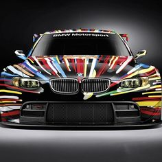 This is the outcome of a BMW driving through a Rainbow!