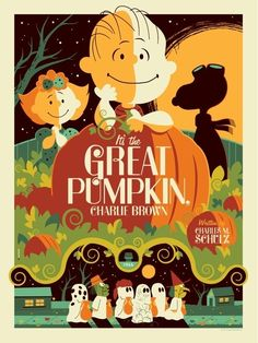 From the TV special 'It's The Great Pumpkin, Charlie Brown' by Charles Schulz  [American TV special  1965]