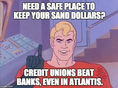 Credit Unions offer the best interest rates on savings accounts! Visit www.methodistcu.org or visit one of our branches for more information!