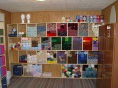 yarn storage ideas   Yarn Storage idea! Oh I'm do going to do something like this!!~