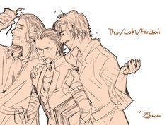 Thor&Loki&Fandral