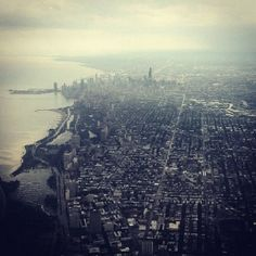 chicago skyline -- love this view!
