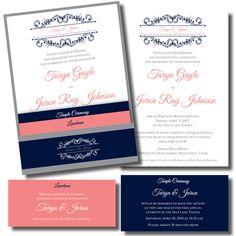 Pocket Wedding Invitation 16