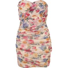 Floral Tube Dress By Rare**